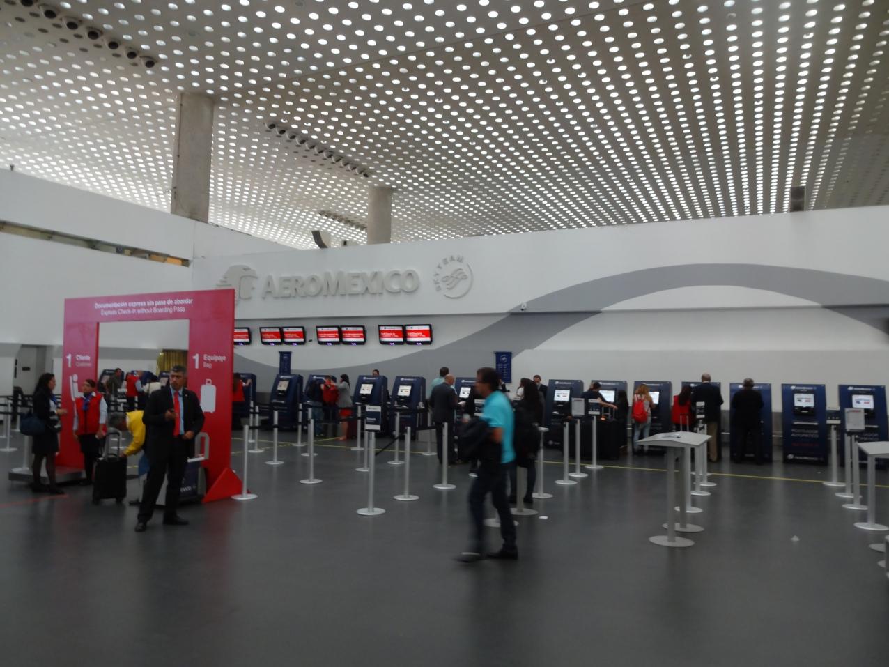 Check-in Aeromexico