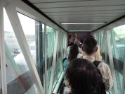 A caminho da aeronave