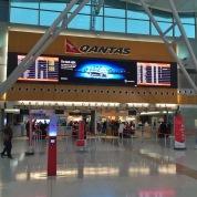 Embarque da Qantas