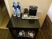 Águas e café