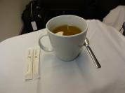Chá após a decolagem