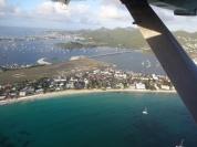 St. Maarten vista de cima