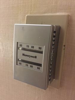 Controle do ar-condicionado de 1950