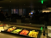 Buffet no Lounge OneWorld