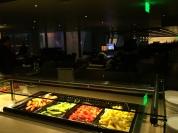 Buffet no Lounge OneWorld