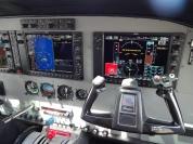 No assento do co-piloto