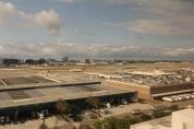 Vista para o aeroporto