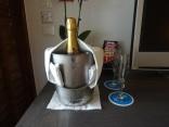 Champagne de boas vindas