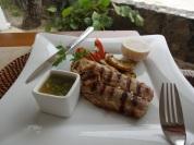 Almoço no restaurante