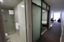 Banheiro na entrada