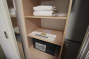 Cofre e toalhas