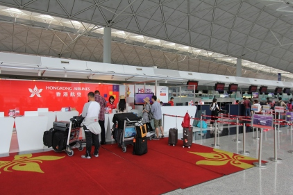 Check-in Hong Kong Airlines