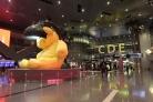 Saguão do aeroporto de Doha