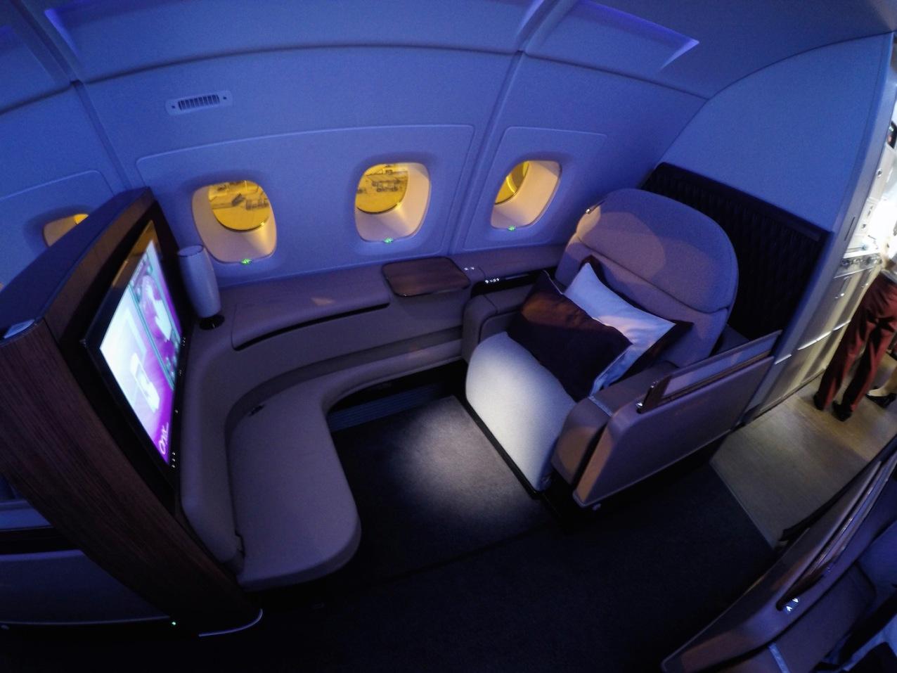 Assento da primeira classe